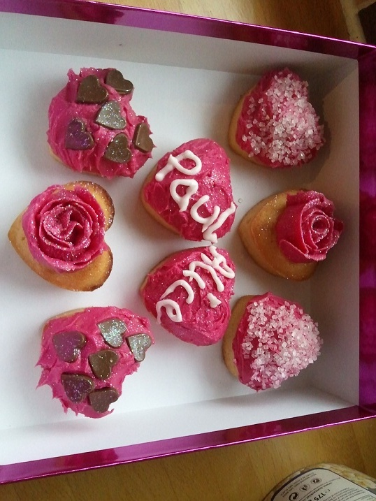Engagement cupcakes :-)