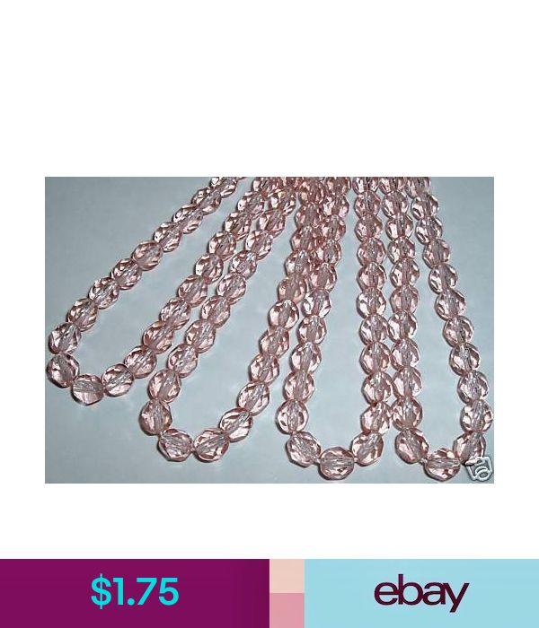 AL292 CZECH 6mm Fire Polished Glass Beads-ROSALINE 25