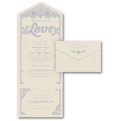 wedding invitations heart pure romance invitationpro