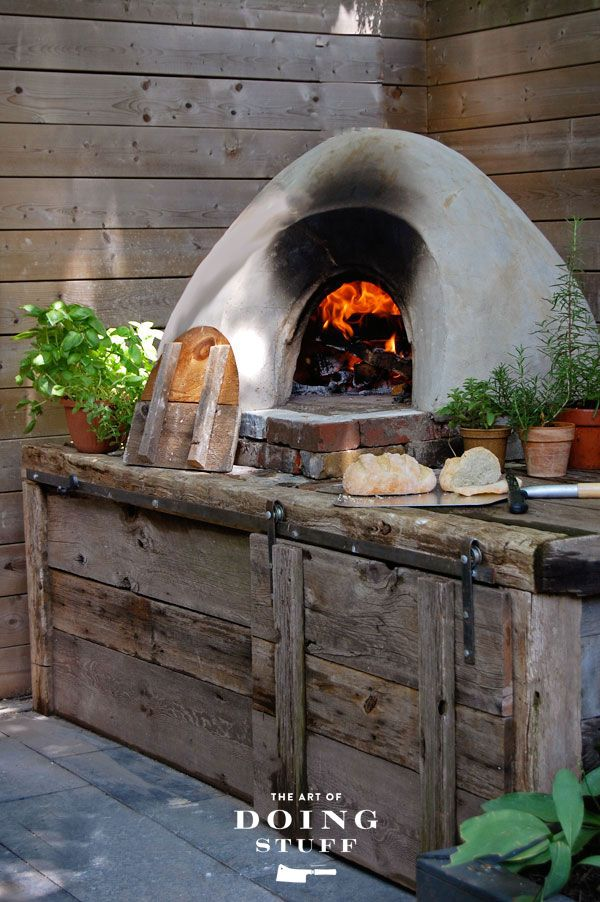 Captivating How To Build A (cob) Pizza Oven Step By Step.
