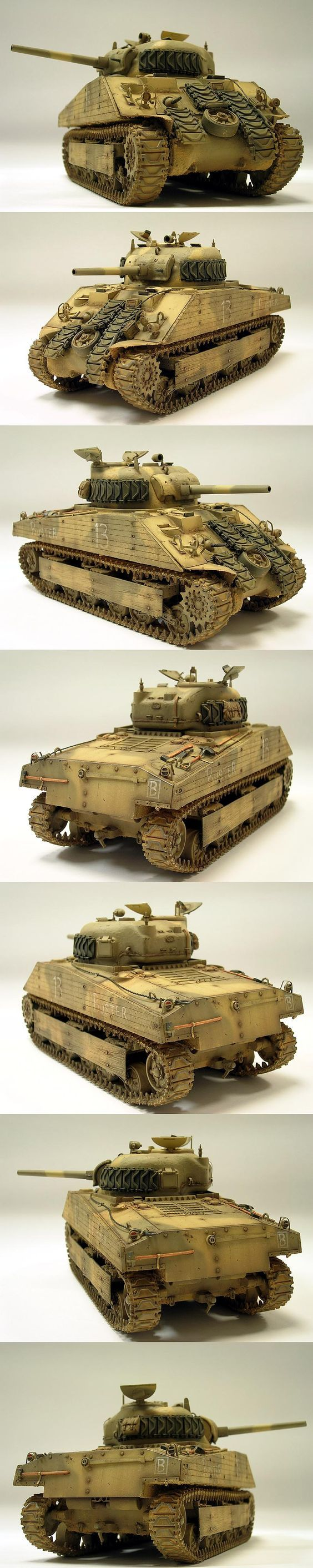 M4A2 Sherman (Early) 1/35 Scale Model USMC Iwo Jima: