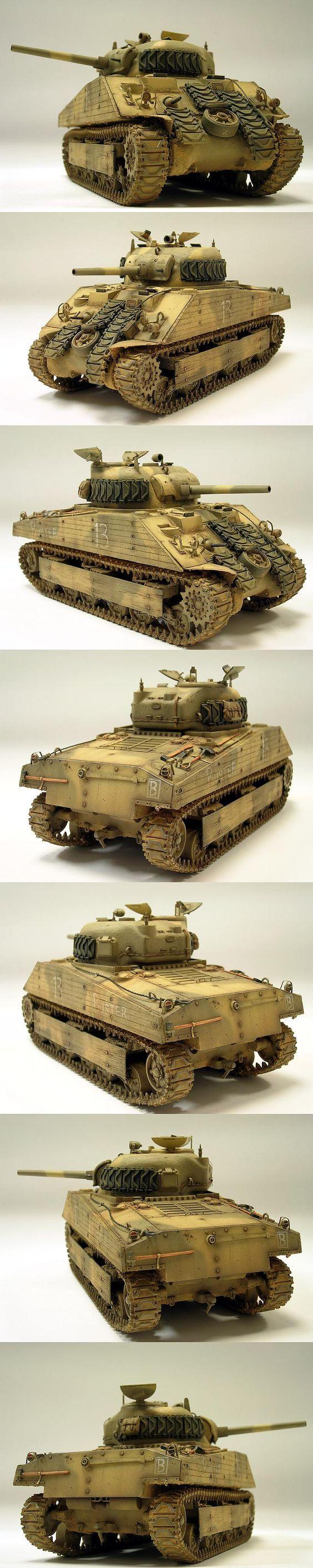 M4A2 Sherman (Early) 1/35 Scale Model USMC Iwo Jima: