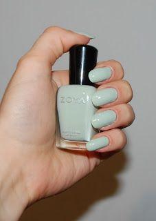 ❁ Aleno4ka's87 blog ✿ : Лак для ногтей от ZOYA, оттенок Neely (мятный)