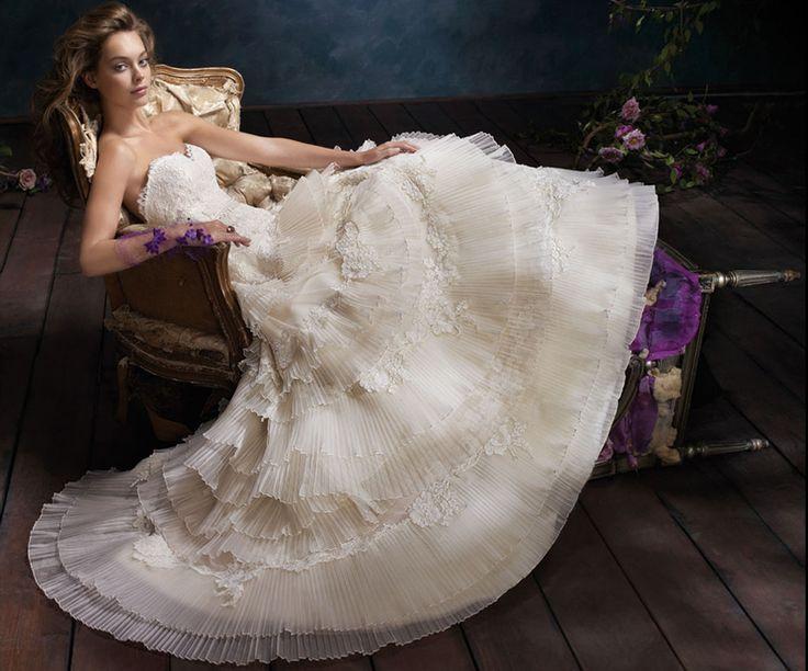 http://jlm-assets.s3.amazonaws.com/styles/lz/br/zoom/lazaro-bridal-tiered-pleated-silk-organza-ball-gown-lace-sweetheart-net-circular-skirt-chapel-train-3102_zm.jpgIdeas, Lazaro, Wedding Dressses, Bridal Collection, Ball Gowns, Bridal Gowns, Tiered Wedding Dresses, White Dresses, Wedding Dresses Style