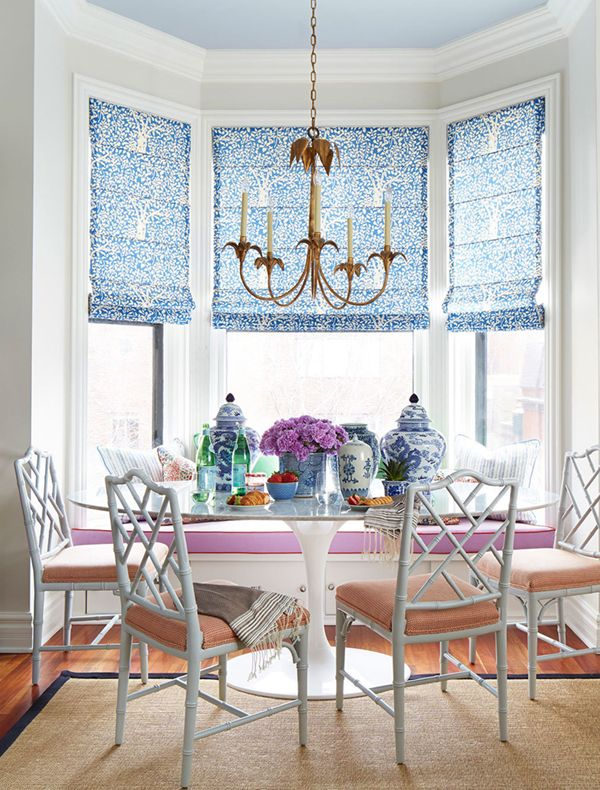 a bright breakfast nook by summer thornton design | coco+kelley