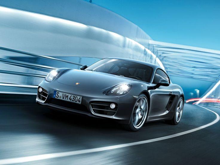 Porsche Cayman - Interactive Microsite