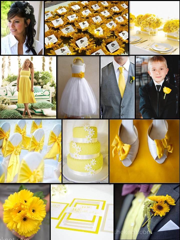 An English Rose, Luxury Lifestyle Weddings - Yellow Themed Wedding