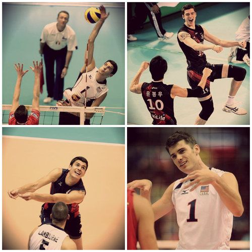 Matt Anderson, USA men's volleyball Olympic team