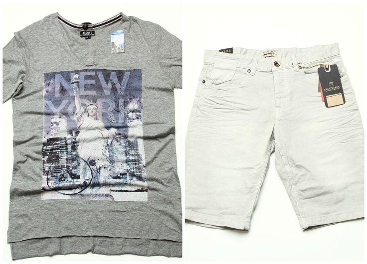 Alcott Men Summer Outfit format din: Tricou (30 Lei) https://www.543.ro/tricou-alcott-i12373 Blugi scurti (40 Lei) https://www.543.ro/blugi-alcott-i12223