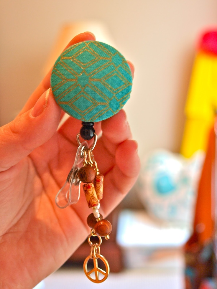 Crafternoon: Just Fob-ulous, DIY Retractable Key Fobs.