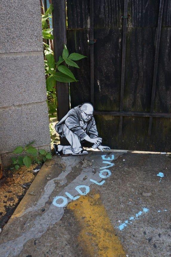 street art by Joe Iurato in New York City, USA http://restreet.altervista.org/le-installazioni-intagliate-nel-legno-di-joe-iurato/
