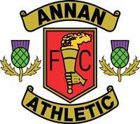 1942, Annan Athletic F.C. (Scotland) #AnnanAthleticFC #Scotland (L17645)