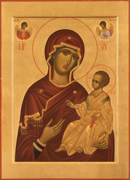 Veneration of the Virgin: The Art of Icons in Greek Orthodox Theology