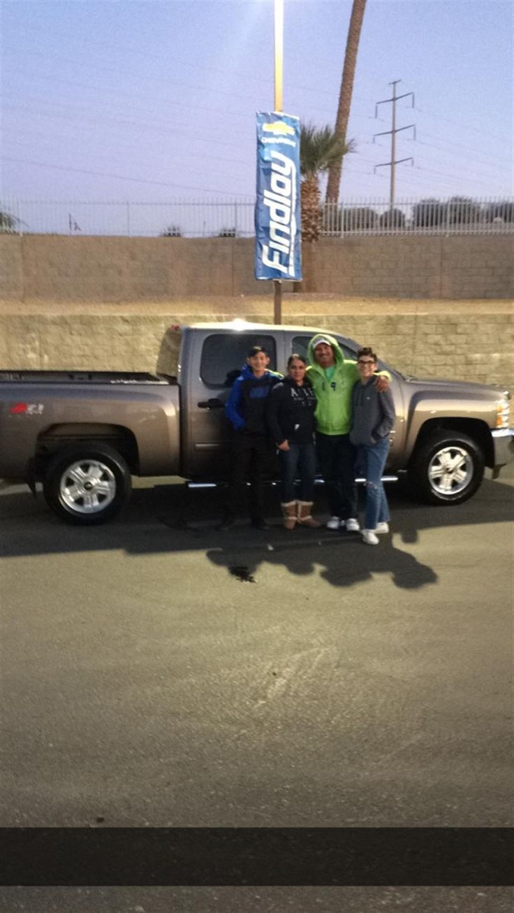 MONICA  AND JUAN's new 2013 CHEVROLET SILVERADO 1500! Congratulations and best wishes from Findlay Motor Company and Jesse Premsey.