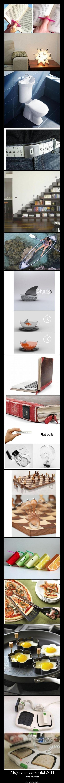 Mejores inventos del 2011