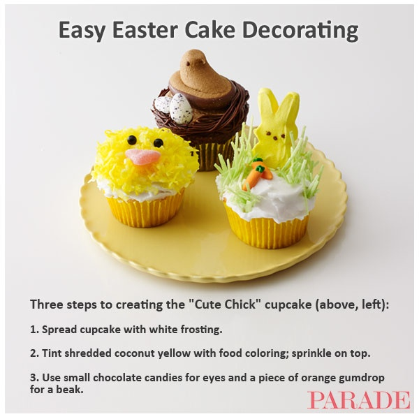 Easter Cupcake Decorating Ideas Pinterest : Easy Easter cupcake decorating ideas! Favorite Recipes ...