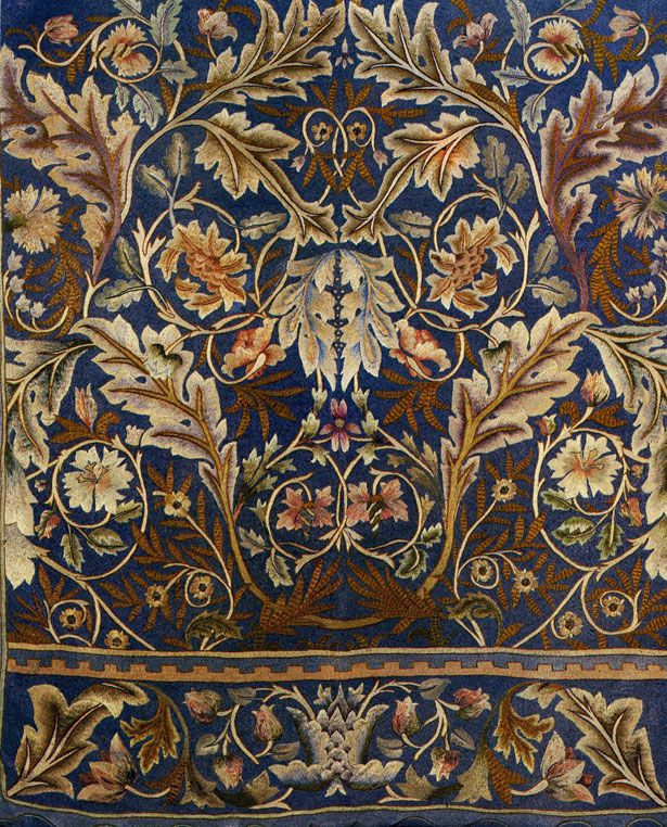 Carpet design by William Morris, produced by Morris & Co in 1880..jpg