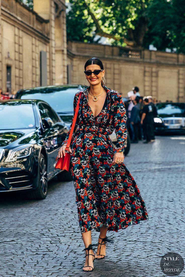 Haute Couture Fall 2019 Street Style: Giovanna Battaglia Engelbert 1
