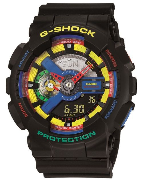 um..... seriously! i would like to have this and wear it. G-Shock Watch designed by Dee & Ricky