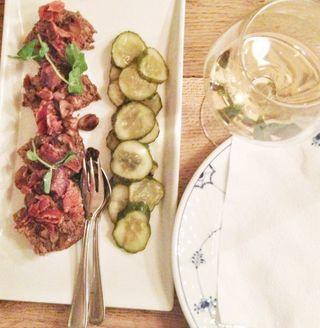 Julestatus og lækkerier på Restaurant Kronborg