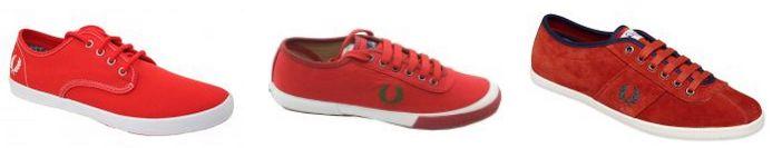 El rojo es el color de la pasión, y si te consideras un apasionado, estas zapatillas FRED PERRY están hechas para ti. http://www.zake.es/