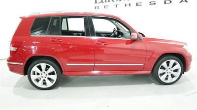 2010 Mercedes-Benz GLK-Class GLK 350 4MATIC 4dr 350 GLK 350 4MATIC 4dr 350 mercedes benz glk 350 4x4 4matic 10 11 12 mars red suv he
