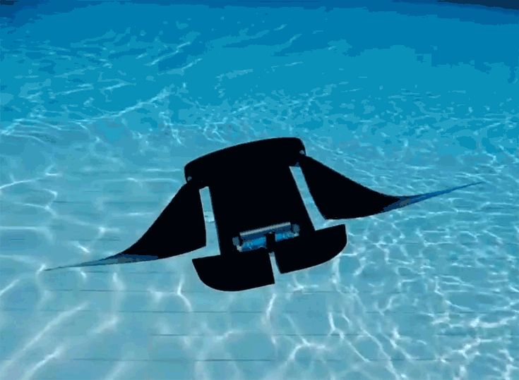 researchers at the national university of singapore create a manta ray robot that swims faster and for longer than traditional autonomous underwater vehicles.