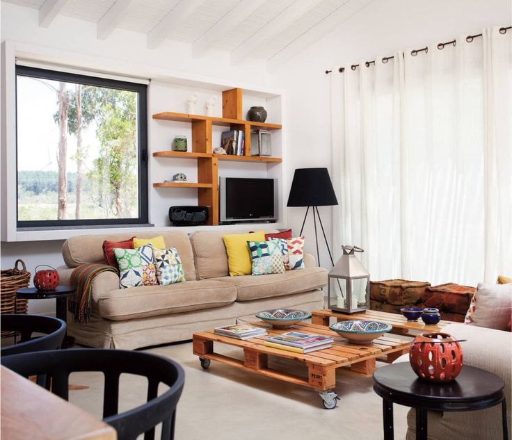 Rustic style living room by LAVRADIO DESIGN