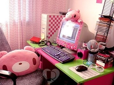 Kawaii Room Idea. Gloomy bear pillow