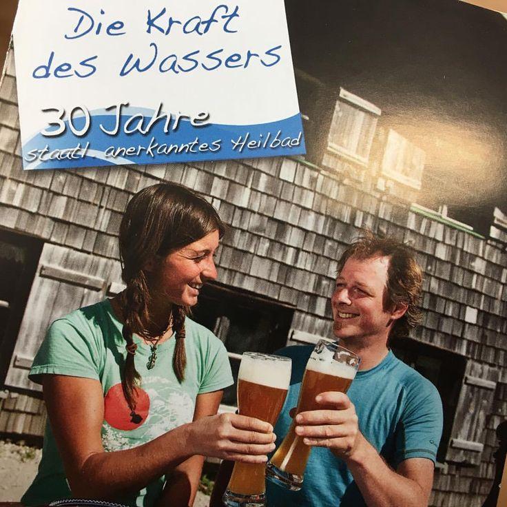 Weißbier - Bayerisches Heilkraftwasser. Eine anerkannte Studie des Klinikums Rechts der Isar beweißt die gesundheitsfördernde Wirkung von Bier.