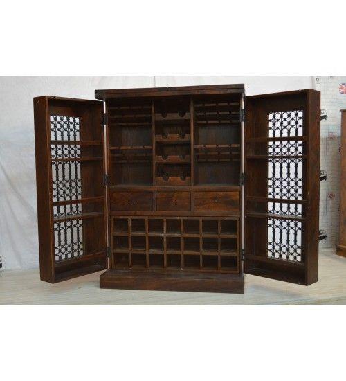 Indyjski drewniany #bar Model: IG-114 co tylko 2,478 zł.  Kupuj online @ http://goo.gl/8SOxr9