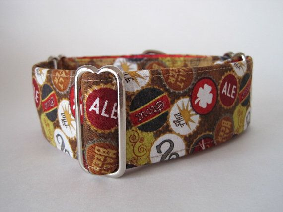Greyhound Martingale Collar 1.5 Martingale by HuggableHound, $19.99