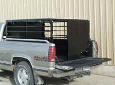 Show Stopper Equipment Livestock Pickup topper for hauling your show animals.