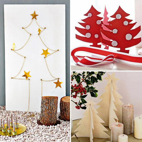 diy-mini-christmas-tree маленькие елки своими руками