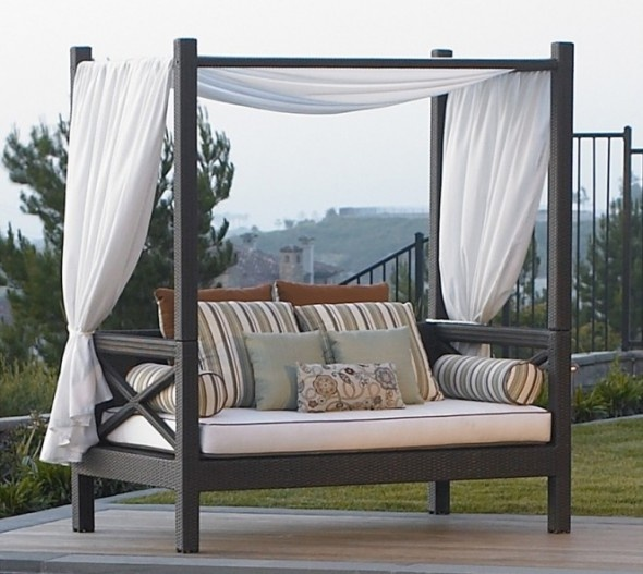 lounge sofa with canopy | Outdoor daybed, Furniture, Patio ... on Belham Living Brighton Outdoor Daybed id=56212