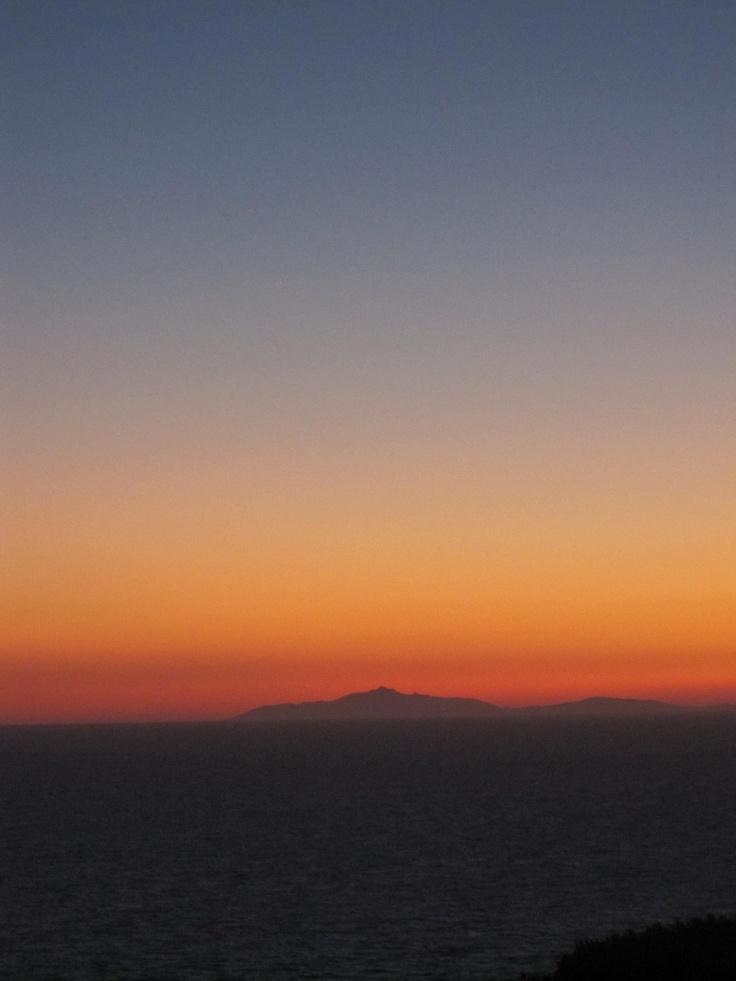 Sunset from Cala Piccola, Monte Argentario, #maremma, #tuscany, #italy