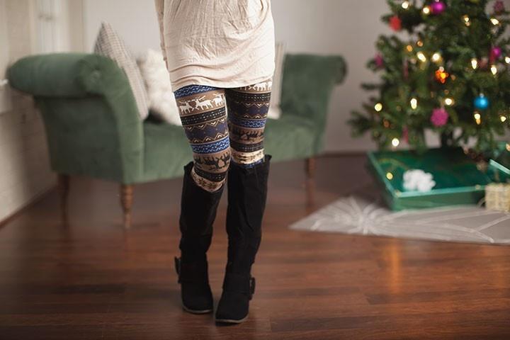 Prancer Reindeer Leggings