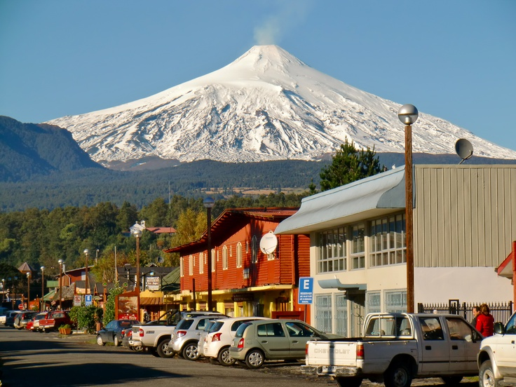 Pucon, Chile....I've been there!