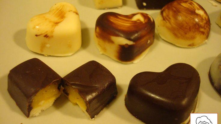 Como hacer BOMBONES RELLENOS | Homemade filled Chocolates