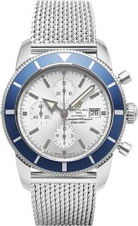 Replica Breitling SuperOcean Mens Stainless Steel Reloj Revisión | réplica de reloj superior