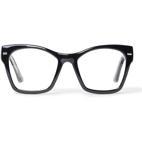 Spitfire Coco Cat Eye Wayfarer Sunglasses found on Polyvore