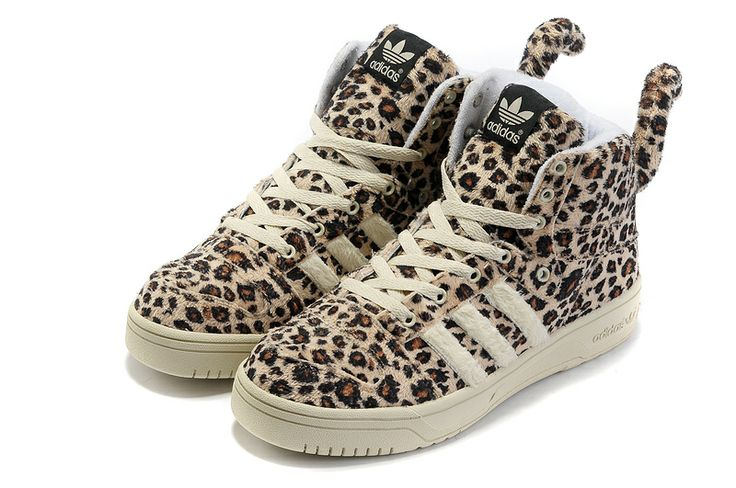 Adidas Jeremy Scott Leopard Tail Shoes