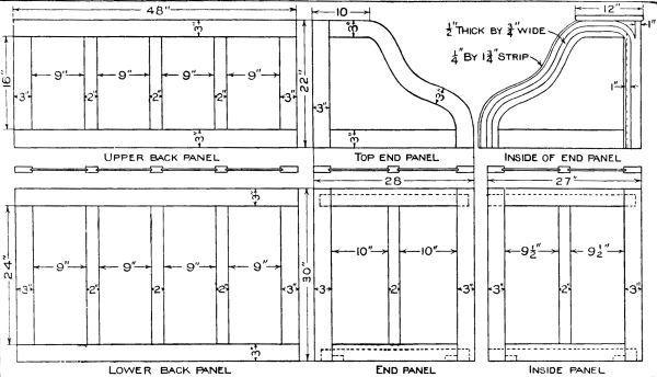 Table Lamp Design Sketch