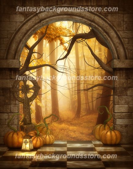 autumn fairy tale wallpaper - photo #14