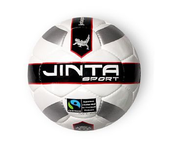 Soccer Ball - Match. 'If you want a serious ball for a serious game then this is the ball for you. Match quality ball, this 32 panel ball official match standard compliant.' #soccer #football #fairtrade #ballsforgood
