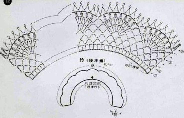 Вязание кружевного воротничка