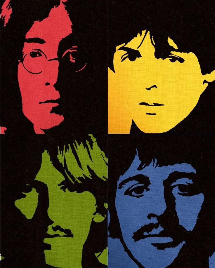 The Beatles - pop art