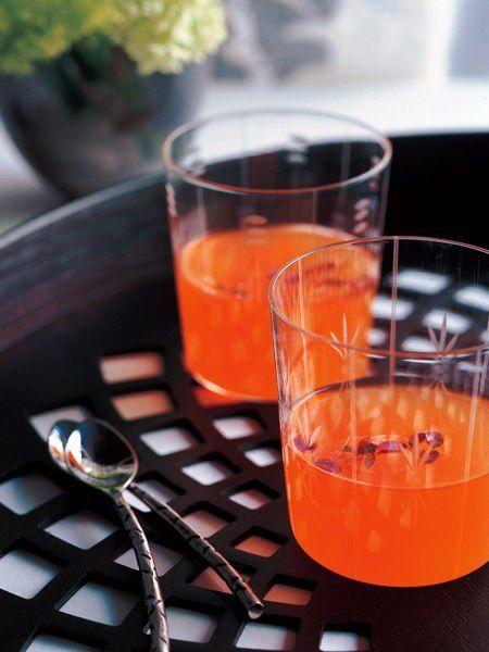 【ELLE a table】海老のコンソメスープレシピ エル・オンライン