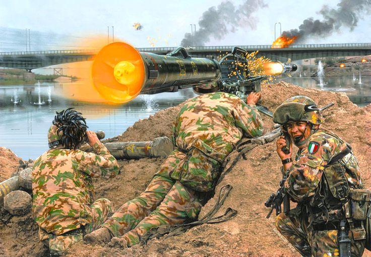 Esercito Italiano - Bersaglieri a Nassirya - Daniel Bechennec