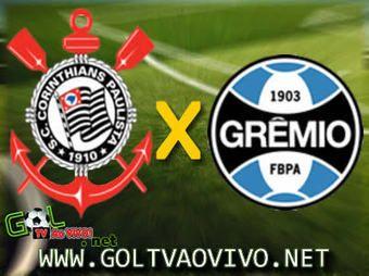 Assistir Corinthians x Grêmio ao vivo 21h00 Brasileirão 2013
